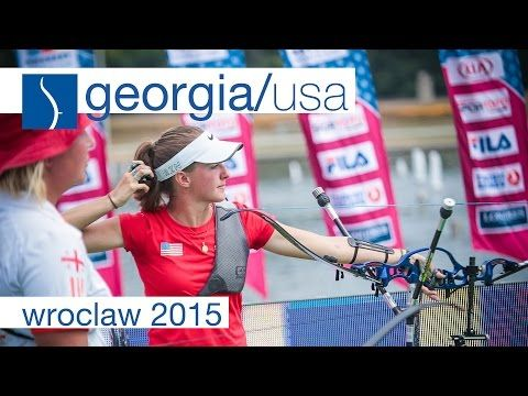 Kato v Brown – Recurve Women's Gold Final | Wroclaw 2015 - YouTube