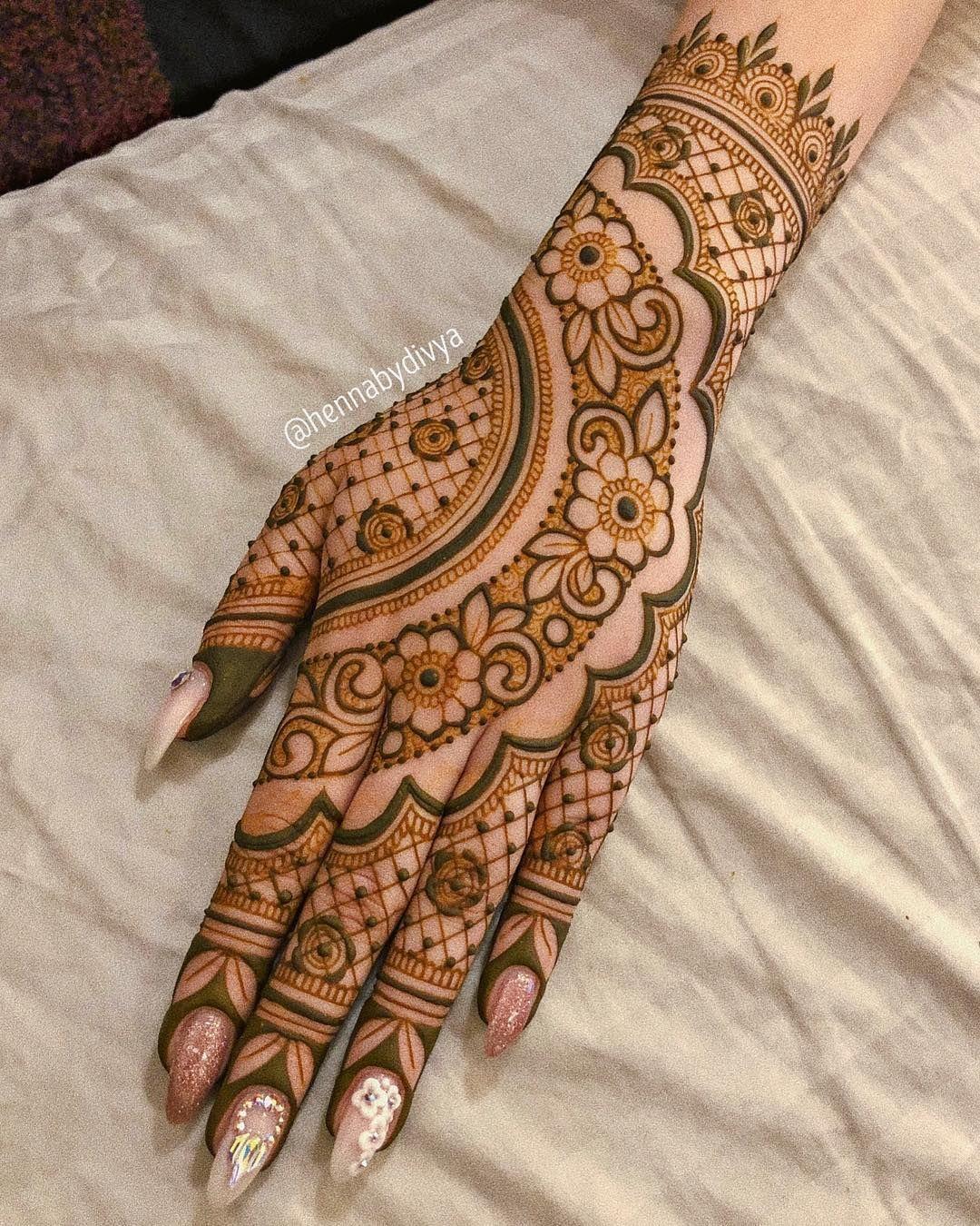 No Photo Description Available Henna Designs Hand Dulhan