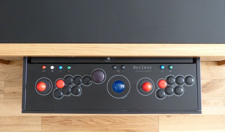 The evolution of our arcade table control panel - Sanwa sticks and