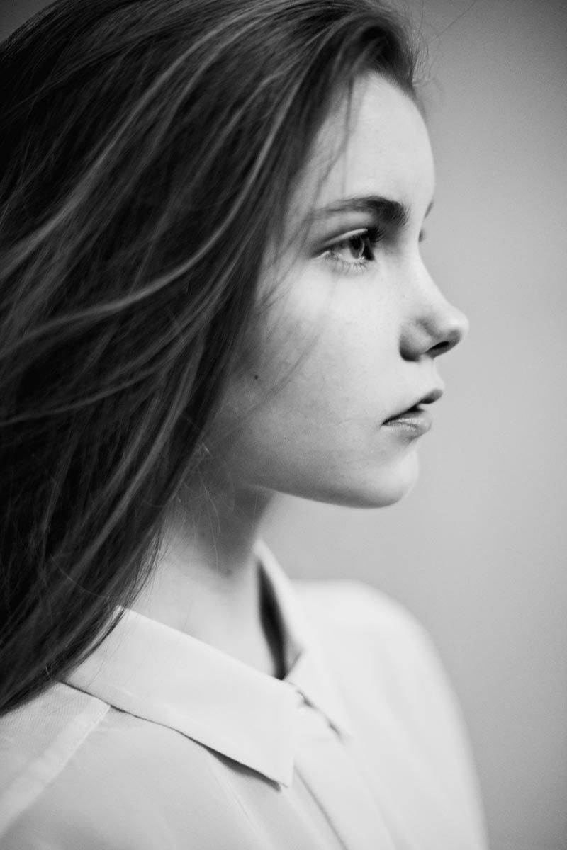 Fresh Face Faces Profile Girl