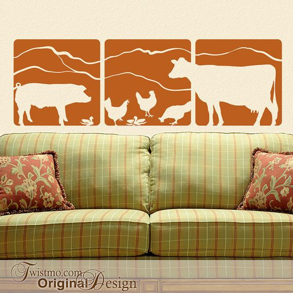 Magnificent Farm Animal Wall Decor Crest - Wall Art Collections ...