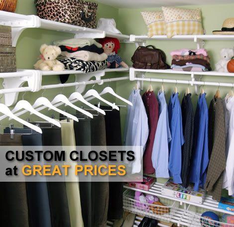 The Best Closet Organizer | Cheap Closet Organizer | Discount Closet  Organizers | Closet Organization Systems | Closet Shelving