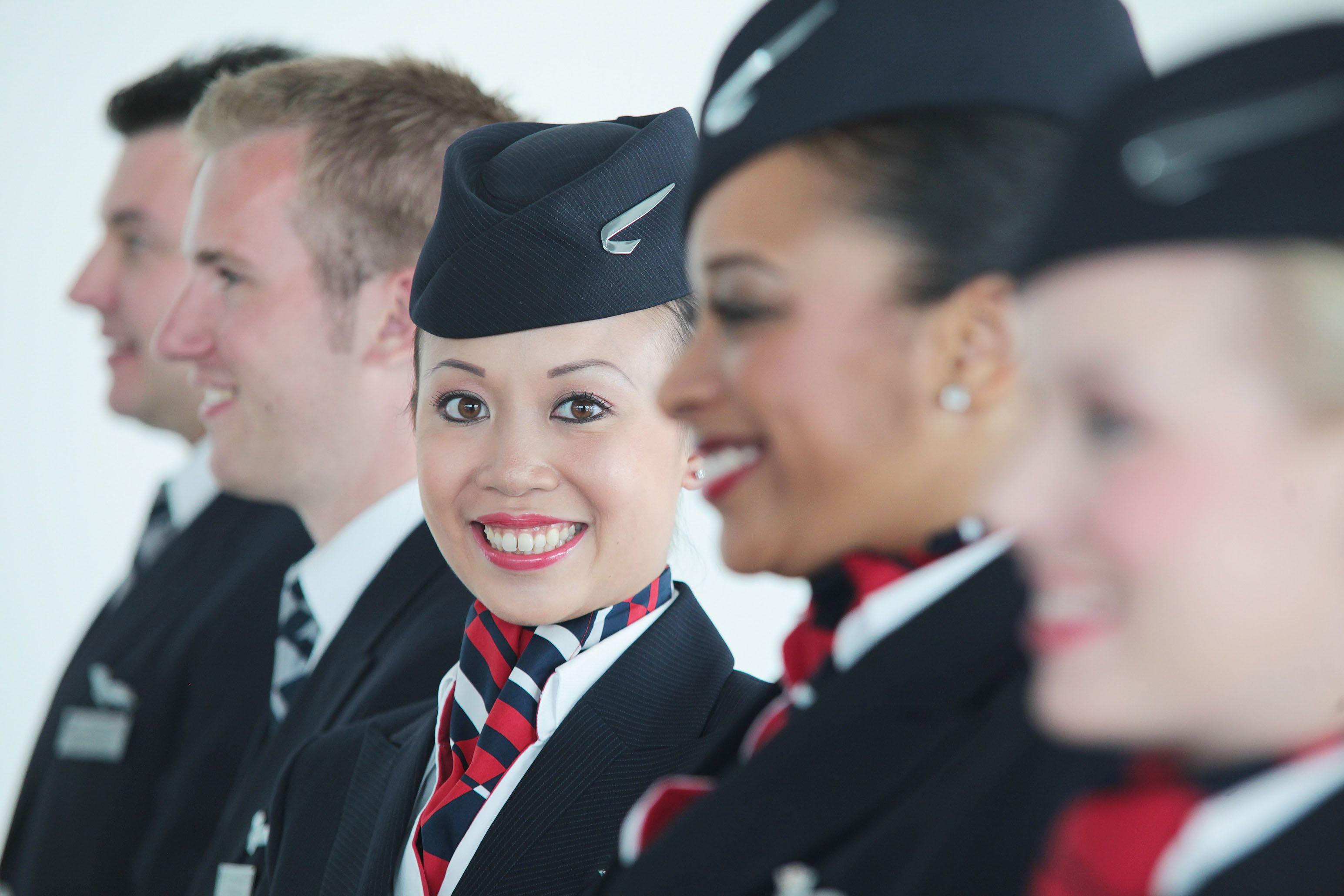 British Airways travel alookat airlines 制帽, 客室乗務員