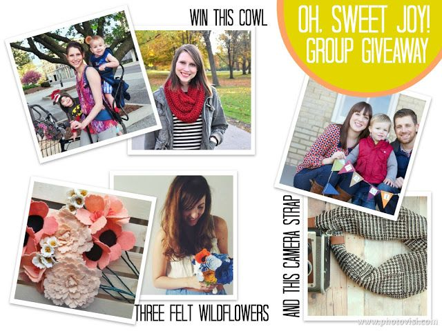 GROUP sponsor highlight + giveaway ((featuring handmade colectibles, flutter by hannah, and paisley maze)) - oh, sweet joy!