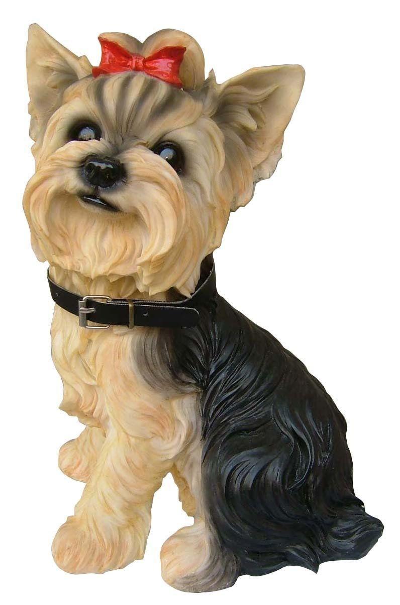 Yorkie Terrier Dog Indoor Outdoor Statue Figure  Yorkie terrier
