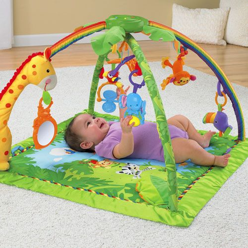 Tapis De La Jungle Toys By Age Infant Activities Fisher Price Baby Toys