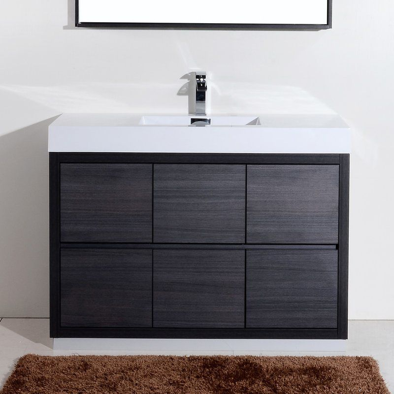 The Tenafly Is One Of The Most Elegant Modern Bathroom Vanities Custom Modern Bathroom Vanity Decorating Design
