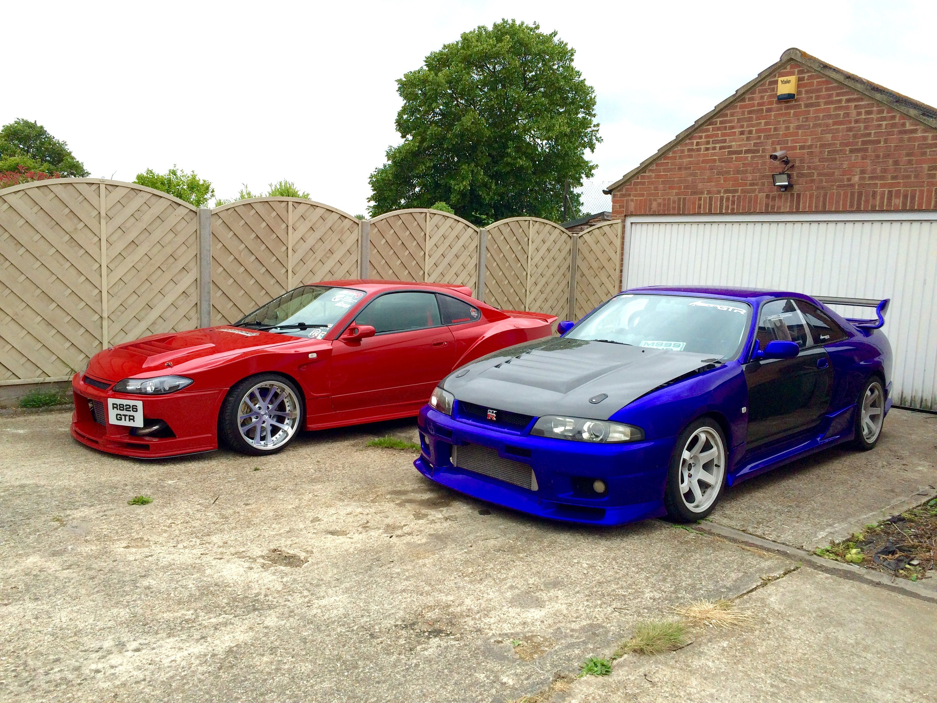 My Nissan Skyline R33 Gtr Bcnr33 Parked Next To My Kazama