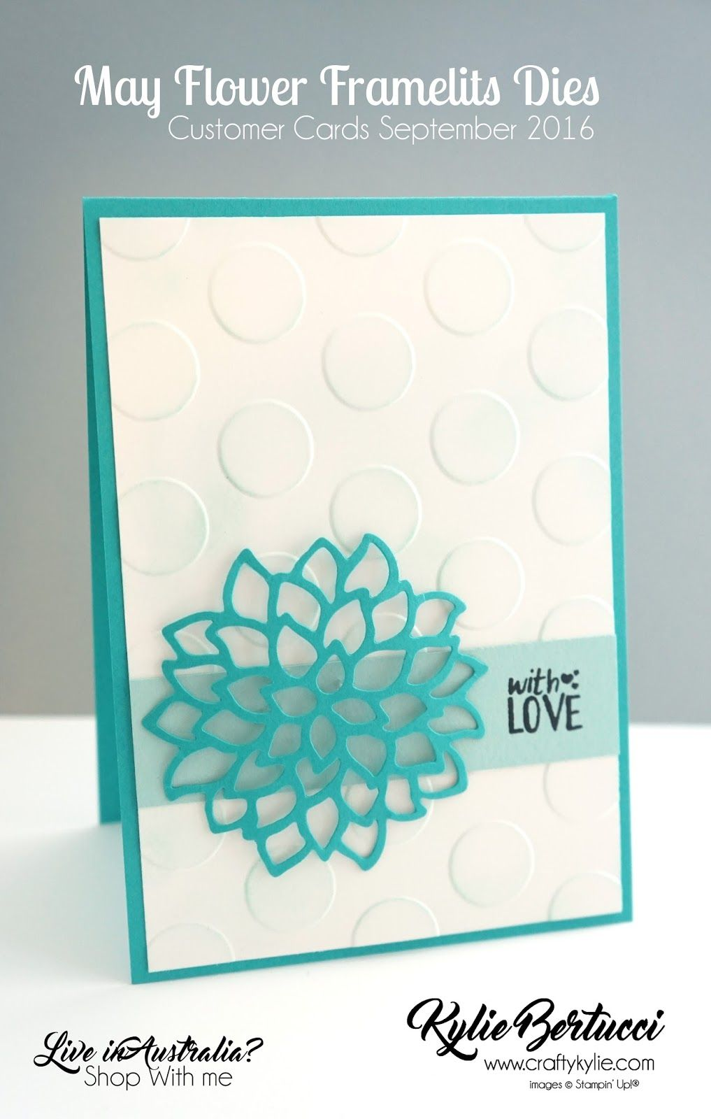 Superior Card Making Ideas In Australia Part - 3: Kylie Bertucci - World Card Making Day Blog Hop Number One! Click On The  Link