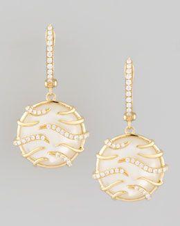 Frederic Sage 18K Mother-of-Pearl Earrings 9L9ut