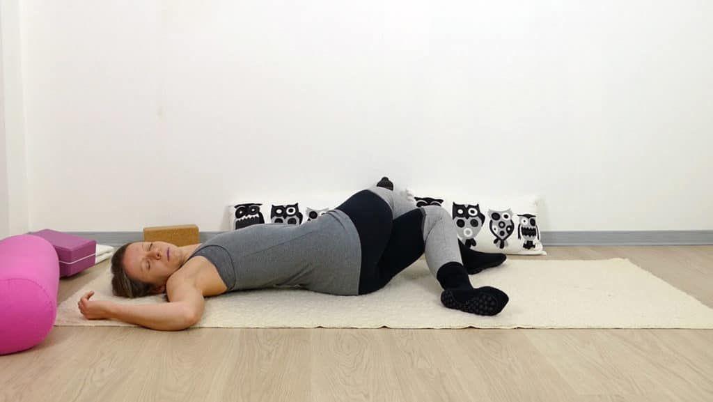 Yin Yoga Sequenz für das Element Metall - Lunge und..