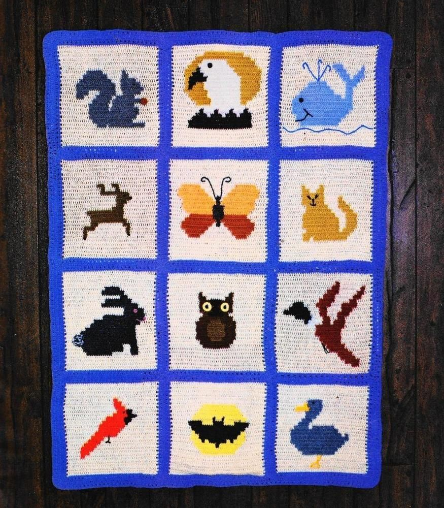 Crochet salvaje y libre afgano Victoriano Runner Tapetes Rechoncho ...