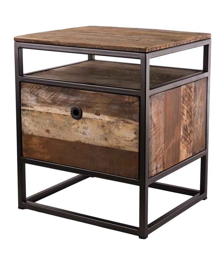 petit meuble d appoint 1 tiroir en teck