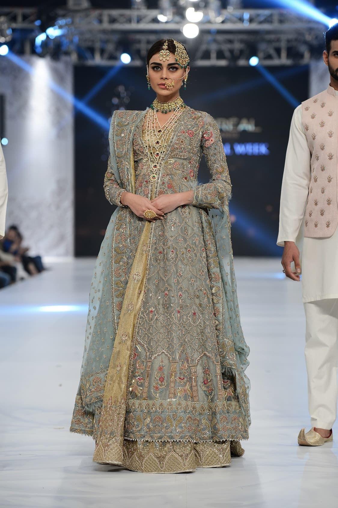 Best wedding dresses karachi   looks from bridal week that weud actually wear  Style  Wedding