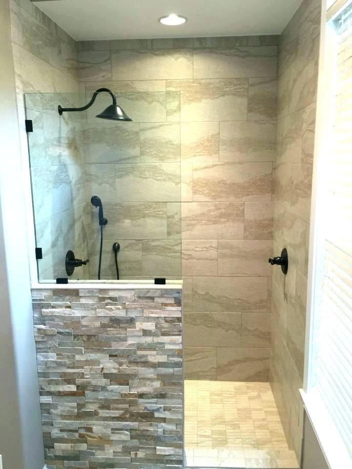 Walk In Shower Plans Tile Designs Photos Stone Bathroom Shower Remodel Bathroom Shower Design Walk In Shower