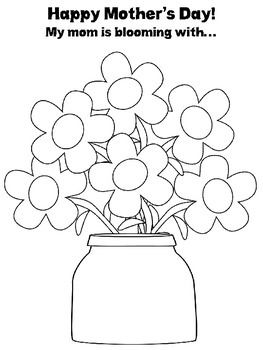 A Cute And Simple Mother S Day Activity To Help Your Students Describe Their Moms Using Their Speech Sou Mother S Day Activities Mothers Day Mother S Day Theme