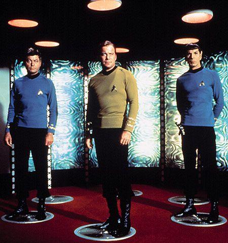 The transporter in Star Trek (1966) ;-)~❤~