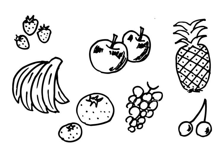Bildergebnis Fur Malvorlage Obst Ausmalbilder Malvorlagen Ausmalen