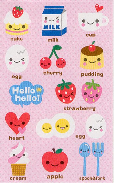sckawaii:  Tiny Cafe Mini Envelope by All Things Kawaii on Flickr.