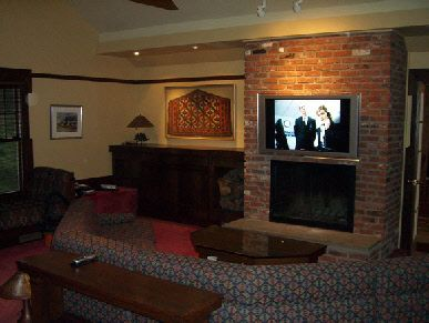 Basement renovations and Plasma tv
