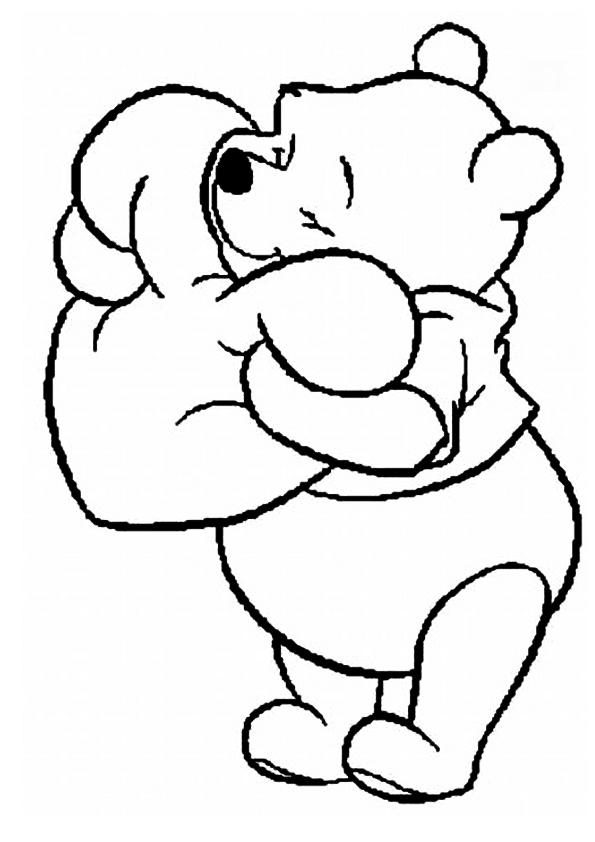 Winnie Pooh Para Colorear 3 4 | Foto Artis - Candydoll | Para ...