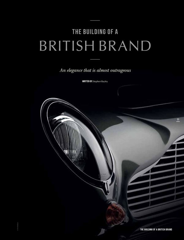 05c9ad4ccf Aston Martin Centenary Brochure Project by Tim Wallace