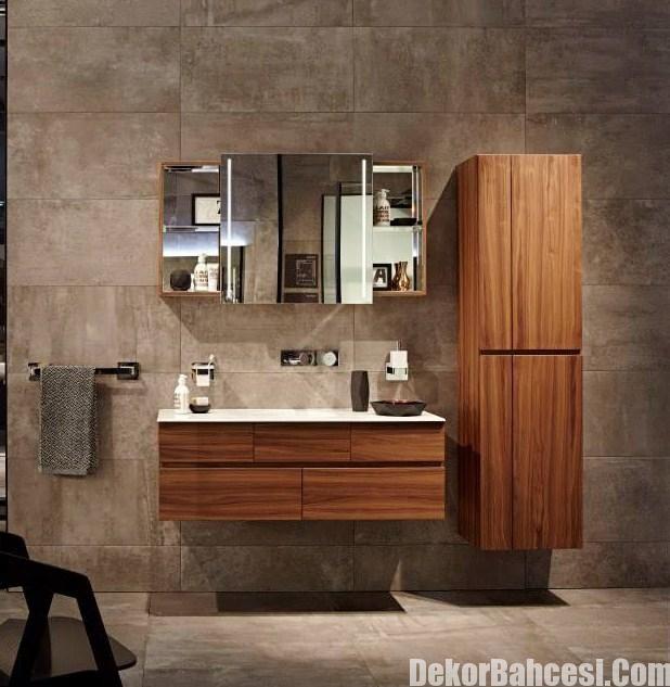 Vitra Dan Muhtesem Banyo Seramik Ornekleri Banyo Dolabi Banyo Banyo Ic Dekorasyonu