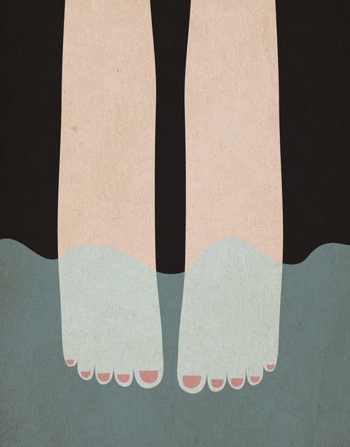 take a dip - illustration - hello pants hellopants.com.au