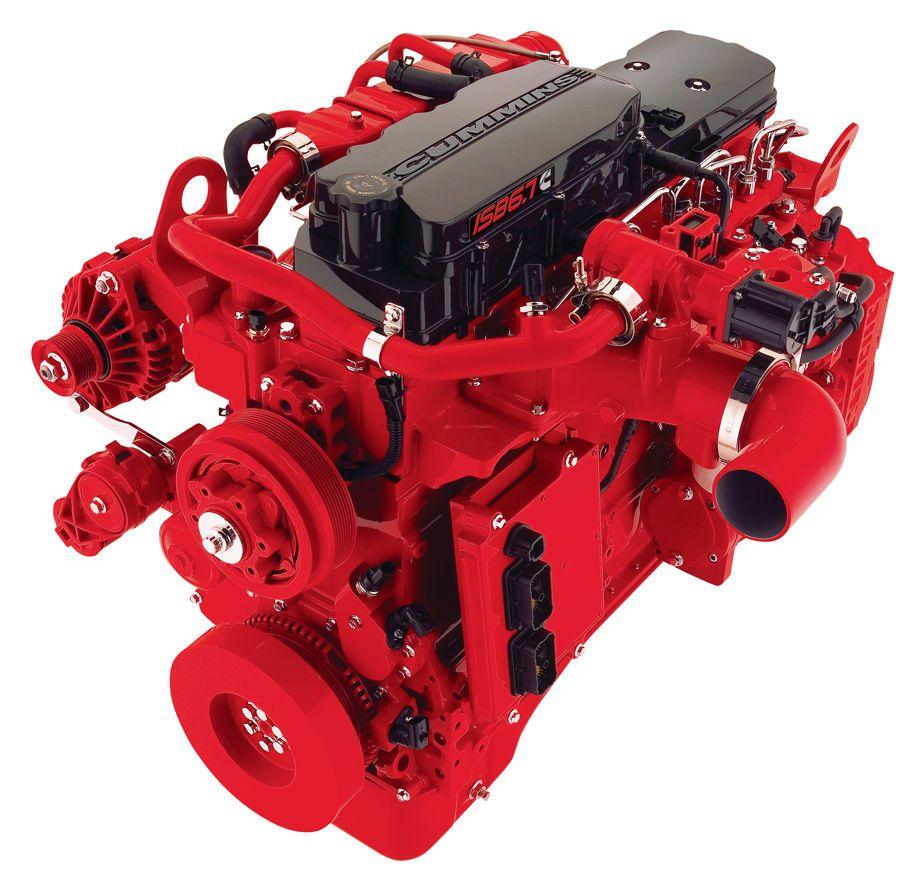 Cummins Diesel Engines >> Idb6 7 Cummins Diesel Engine Built To Pair With Allison
