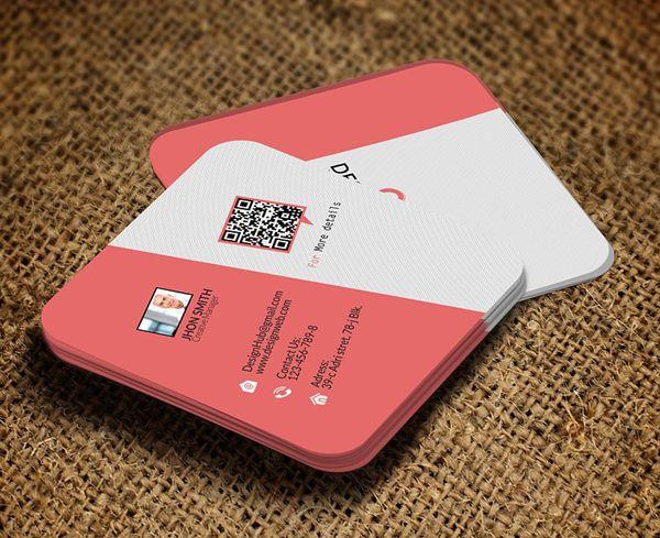 Mini Square Business Card Psd Templates Design Graphic Design Junction Square Business Card Square Business Cards Design Business Card Design Creative