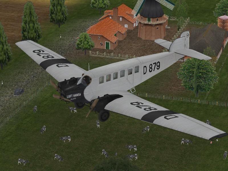 Junkers G24 Flugzeug Set. Bis #EEP6 http://bit.ly/Junkers-G24-Flugzeug-Set