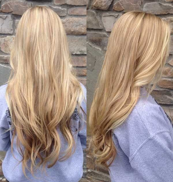 Hair Color With Highlights And Lowlights Light Blonde Colors Unusual Wodip