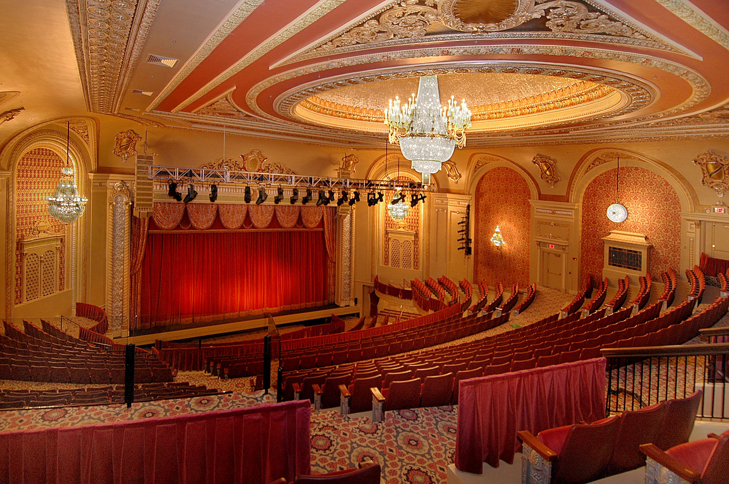 The Genesee Theatre Seats Over 2400 Guests You Would Be Surprised