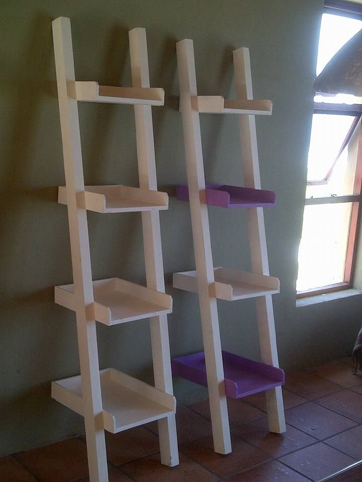 Pallet Stair Style Pot Organizer Or Display Units