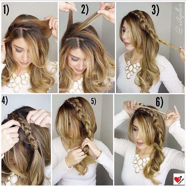 Side Dutch Braid Tutorial Hairstyles How To Beautiful Hair