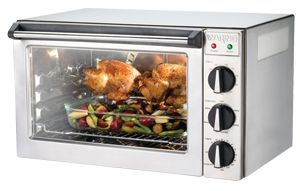 Waring Wco500x Half Size Countertop Convection Oven 120v 1700w Countertop Convection Oven Oven Convection Oven