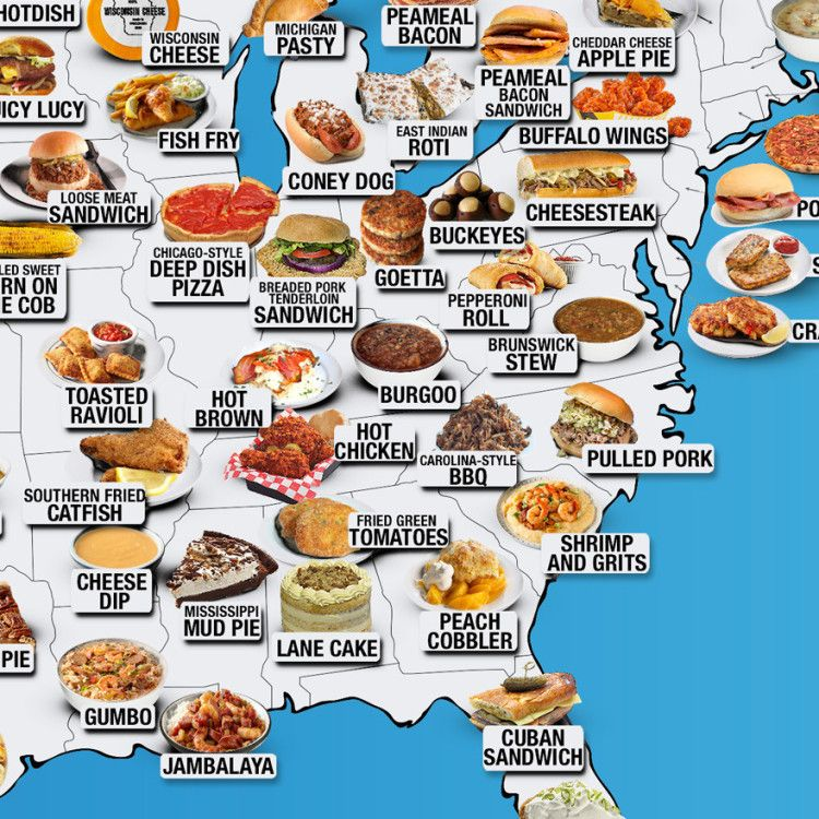 30 Maps Reveal The Tastiest Dishes Around The World Food Tasty