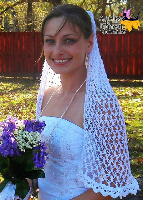Love is in the Air Wedding Veil pattern by Donna Knox | Manta, Velos ...