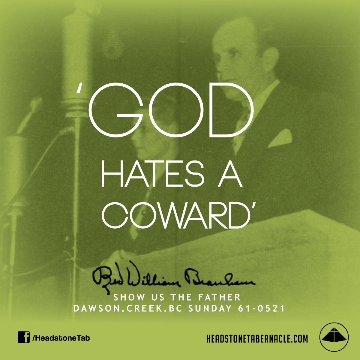 God Hates A Coward Image Quote From Show Us The Father Dawson