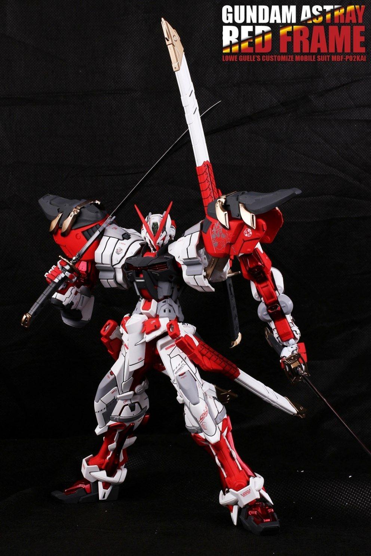 Gundam Guy Mg 1 100 Astray Red Frame Power Resin Rx 93 V Nu Ver Ka Master Grade 1100 Daban Model Conversion Customized Build