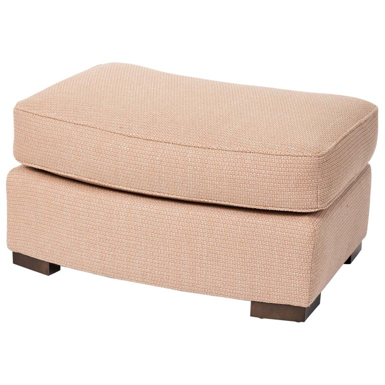 Pleasant Donghia Noble Ottoman In Blush Pink Cotton Upholstery With Cjindustries Chair Design For Home Cjindustriesco