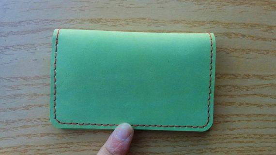 Cartera de hombre,cartera de cuero,cartera de piel,cartera bolsillos,cartera verde ,cuero verde,piel natural,cartera caballero,cartera piel