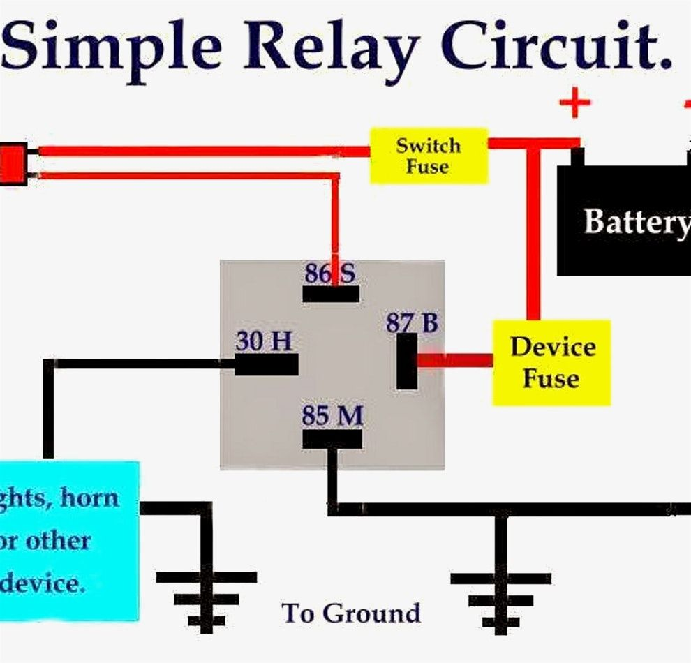 Cute Best Pictures Ideas Of Horn Relay Wiring Diagram