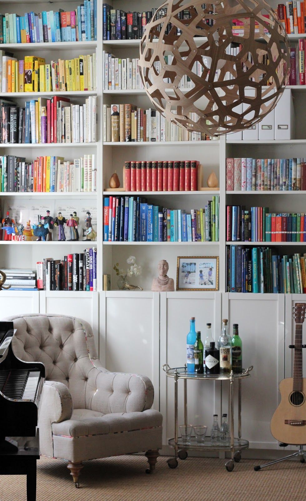 Library Music Room Update Home Libraries Billy Bookcase With