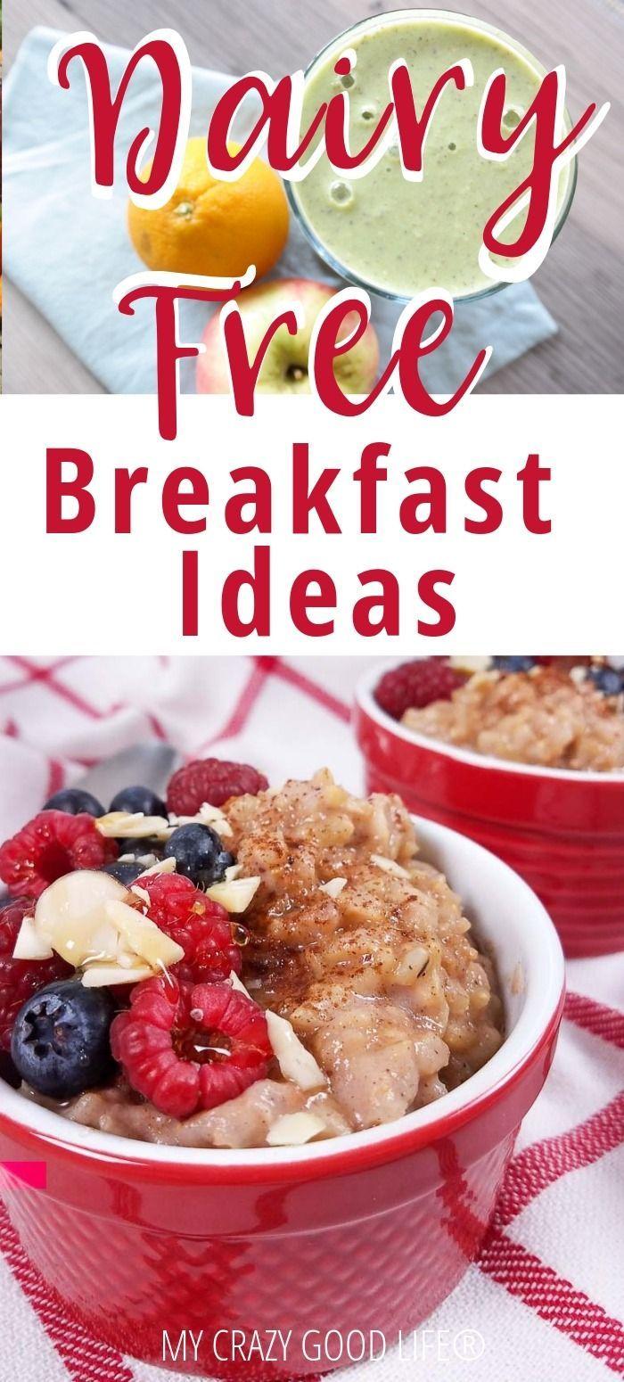 Healthy Egg Free Breakfasts Dairy Free Breakfasts No Dairy Recipes Egg Free Breakfast