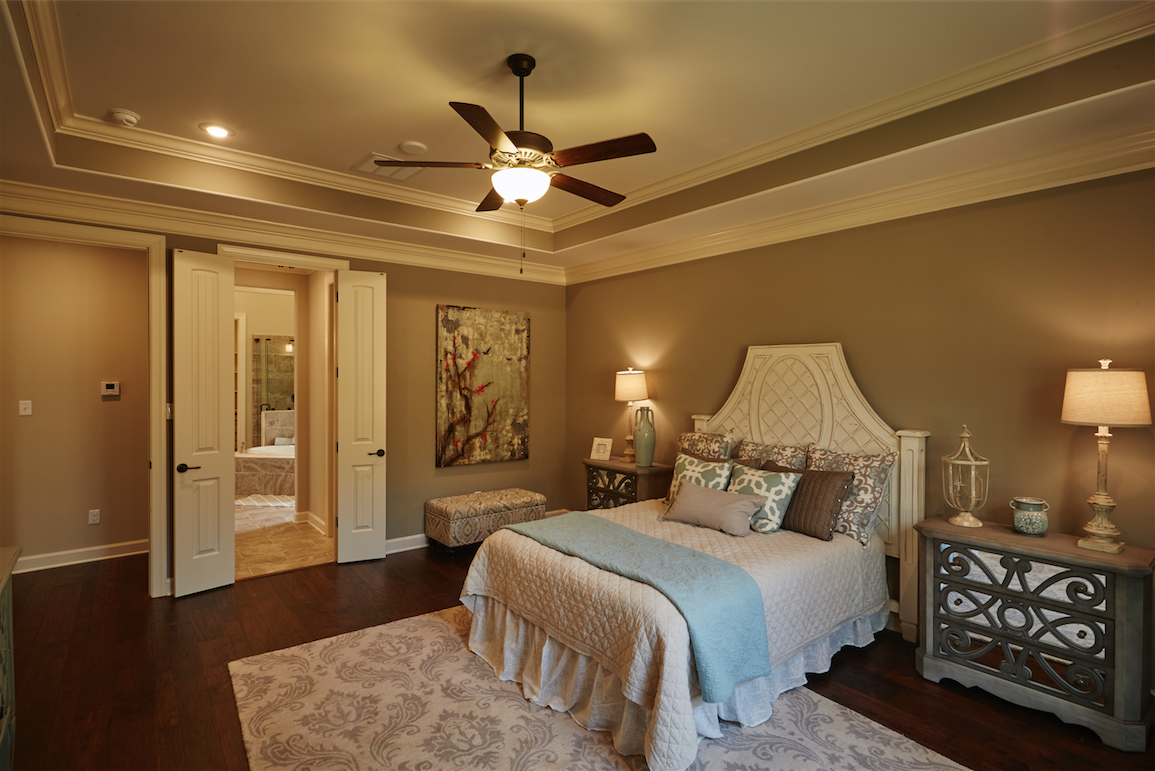 The Master Bedroom Has A Double-door Entry To The Master