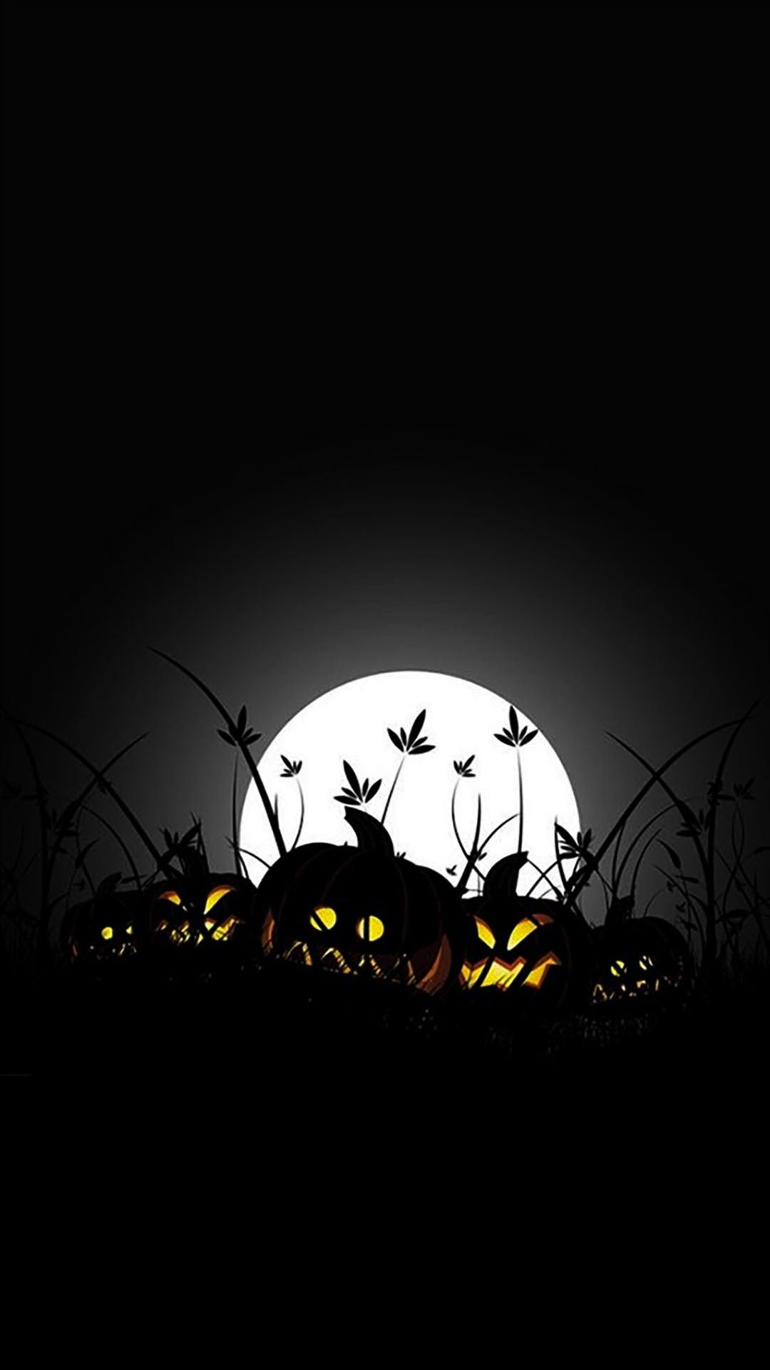 Amoled Halloween Wallpaper Halloween Wallpaper Iphone Halloween Illustration