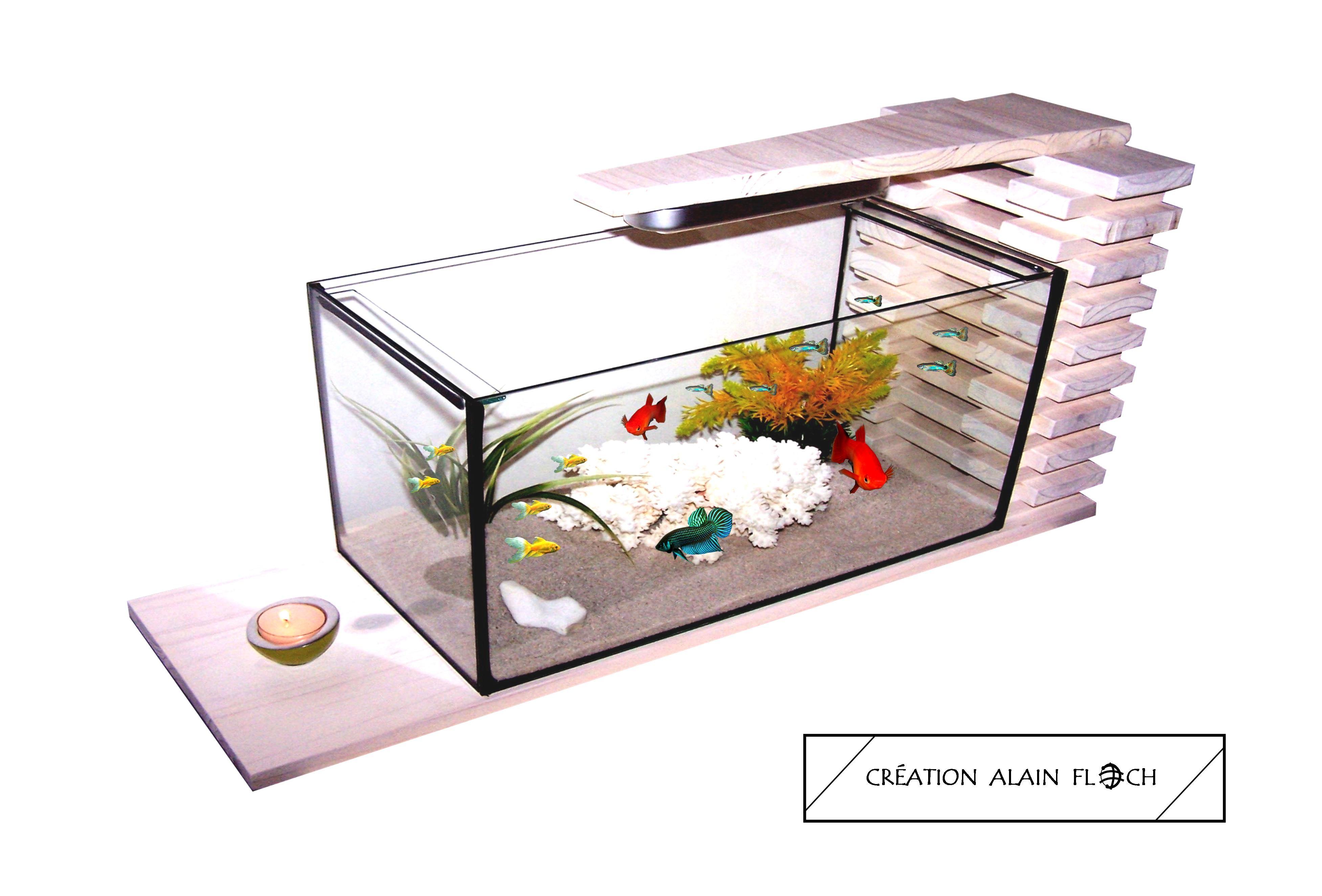 Aquarium Nature Table Basse Aquarium Terrarium Table Basse Terrarium