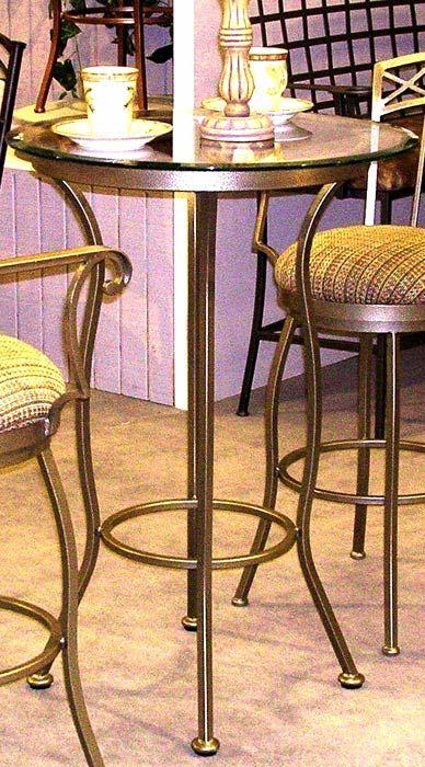 Porterville Round Glass Pub U0026 Bar Tables