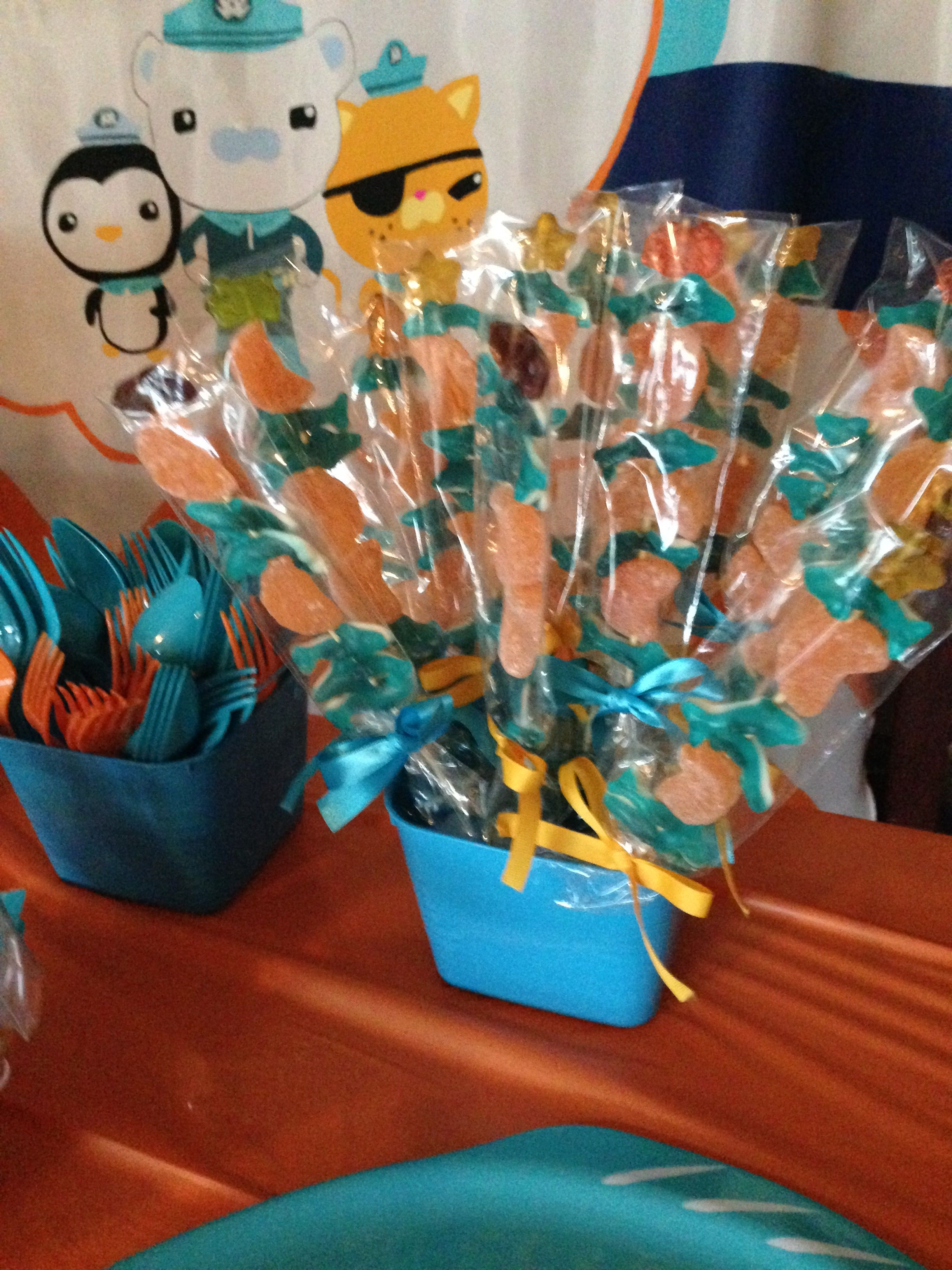 DIY Octonauts Birthday Party Decoration Party on Pinterest
